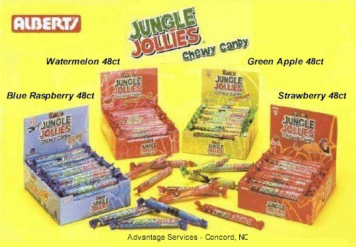 Jungle Jollies 48ct Candy