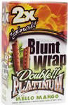 Double Platinum Blunt Wraps Mango 50ct