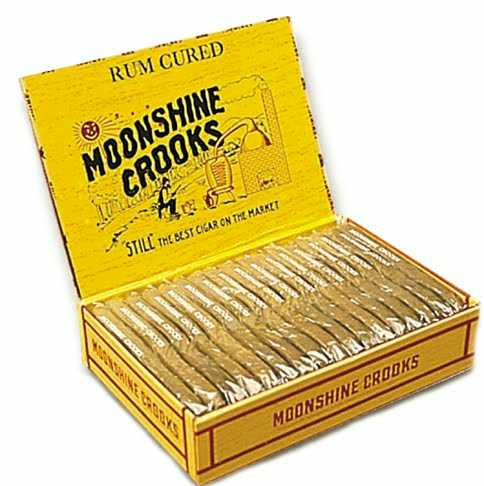 Moonshine Crooks Rum Cured Cigars
