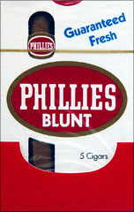 Phillie Blunt Original Cigars pack 10/5's - 50 cigars