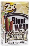 Double Platinum Blunt Wraps Pina Colada 50ct