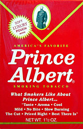 Prince Albert pipe tobacco 6 - 1.5oz pockets