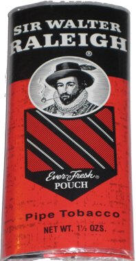 Sir Walter Raleigh Pipe Tobacco  1.5oz-6ct Pouch