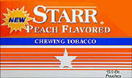 Starr Peach Chewing Tobacco 12ct