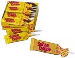 Sugar Daddy Carmel Pops 24ct
