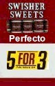 Swisher Sweets Perfecto  Buy 1 Get 1 Free (100 cigars)