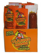 Tijuana Mama Hot Pickled Sausage 12ct