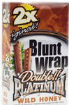 Double Platinum Blunt Wraps Wild Honey 50ct