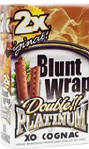 Double Platinum Blunt Wraps Cognac 50ct